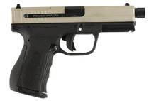 "FMK 9C1 G2 Plus FAT 9mm, 4.5"" Barrel, TB, Black Grip, Stainless,14rd"