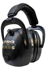 Pro Ears Gold II Electronic Earmuff, NRR30, Black