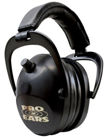 Pro Ears Gold II Electronic Earmuff, NRR26, Black