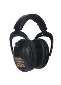 Pro Ears Predator Gold Electronic Earmuff, NRR26, Black