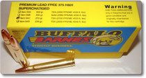 Buffalo Bore Ammo Supercharged 375 H&H Mag Barnes TSX 270gr 20Box/12Case