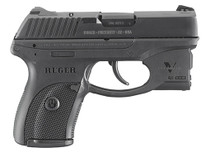 Ruger LC380 380ACP, Viridian Laser, 7rd