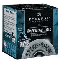 "Federal Speed-shok 410 Ga, 3"", 3/8oz, 25rd/Box"