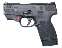"Smith & Wesson M&P45 Shield M2.0 45 ACP, 3.3"", White-Dot Sights, Crimson Trace Red Laser"