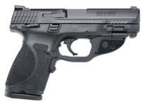 "Smith & Wesson M&P9C M2.0 9mm, 4"", TS Crimson Trace Green, 15rd"