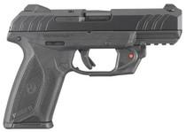 """Ruger Security-9 9mm, 4"""", Viridian Red Laser, Blued, 15rd"""