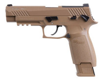 Sig M17 ASP Air Pistol .177, Tan, 20rd