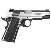 "Colt Combat Elite Commander 1911 9MM, 4.25"" Barrel, SS Frame Two-Tone Finish, G10 Grips, Ambi Safety 9Rd Mag"