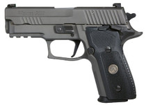 "Sig Sauer P229 Legion Compact, 9MM, 3.9"" Barrel, Legion Gray Finish X-RAY3 Night Sights, Master Shop Flat Trigger, 15Rd Mag"
