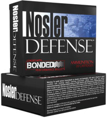Nosler Defense 9mm, 124 Gr, JHP, 20rd/Box