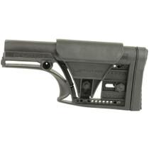 Luth-AR, MBA-1 Fixed Stock, Fits AR-15 & AR-10 Rifle Length A2 Buffer Tube, Black, Adjustable Cheek Piece and Length of Pull