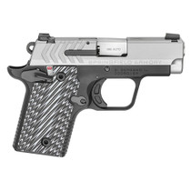 "Springfield, 911 Micro Compact 9MM 3"" Barrel, SS Slide G10 Grips, Tritium Night Sights, 1-6Rd & 1-7Rd Mag"