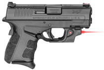 "Springfield XD-S MOD2 9MM 3.3"" Barrel, Viridian Red Laser 9RD Mag"