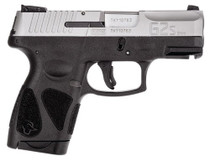 "Taurus G2S Slim Pistol, 9MM, 3.25"" Barrel, Polymer Frame, SS Slide, Fixed Front Sight, Adjustable Rear, 7 Rd Mag"
