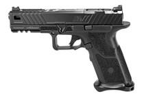 "Zev Technologies O.Z-9 Modular Pistol, 9mm, 4.49"" Barrel, 17rd, Black"