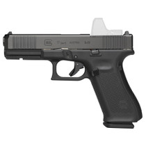 "Glock G17 Gen5 M.O.S. 9MM, 4.49"" Marksman Barrel, Fixed Sights, Ambi Slide Stop, Flared Mag Well, 17rd Mag"