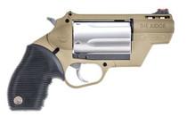 """Taurus Public Defender Polymer, .410/.45 Colt, 2"""", Flat Dark Earth"""