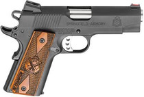 "Springfield 1911 Champion Range Officer Pistol 45 ACP 4"" Parkerized, 7rd"