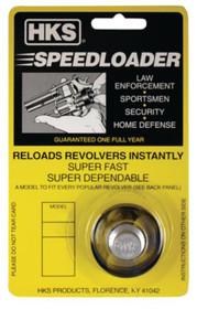 HKS SpeedLoader A Series S&W 27/28; Ruger 357 Metal Black 6 Round
