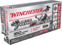 Winchester Deer Season XP, 350 Legend, 150 Grain, Extreme Point Poly Tip, 20 Round Box