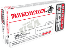 Winchester USA, 350 Legend, 145 Grain, Full Metal Jacket, 20 Round Box