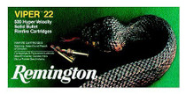 Remington Viper 22LR 36gr, Truncated Cone Solid, 50rd/Box