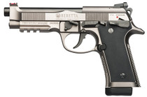 "Beretta 92X Performance 9mm, 4.9"" Barrel, Target Sights, Nistan Alloy Finish, 15rd"