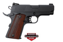 "Girsan MC1911SC Officer 45 ACP 3.3"" Barrel Black, 6rd Mag"