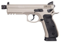 "CZ P-01 Tactical, 9mm, 5.2"" Barrel, 10rd,Tritium Night Sights, Urban Grey"