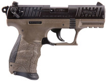 "Walther P22, .22 LR, 3.42 Barrel"", 10rd, Flat Dark Earth, California Compliant"