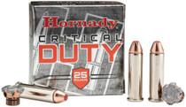 Hornady Critical Duty, .357 Mag, 135 Gr, Hollow Point Polymer Tip, 25rd/Box