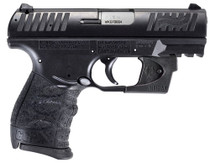 "Walther CCP M2, 9mm, 3.54"" Barrel, 8rd, Black, Viridian Red Laser"