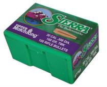 Sierra Bullets Match .308 Diameter 168 Grain Tipped Match King 100 Per Box
