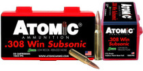 Atomic Subsonic 308 Win 175gr SubSonic 50rd Box
