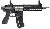 """HK 416 Pistol, .22 LR, 8.5"""" Barrel, 10rd, Matte Black"""