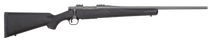 "Mossberg Patriot Synthetic Bolt 375 Ruger 22"" Barrel Stainless Steel Cerakote, Synthetic Black Stock"