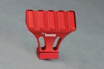 Warne Picatinny Side Mount Adapter, 45 Degree, Red, MSR Rail Mount for Picatinny Rail/Flat Top MSR