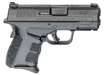 "Springfield XDE Compact 9MM 4.5"" Barrel, Polymer Frame, Black, 2 Mags, 1-8Rd, 1-9Rd, Ambi Safety, Decocker"