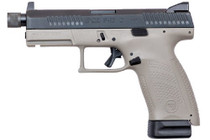 "CZ P-10 C, 9mm, 4.61"" Barrel, 10rd, Night Sights, Urban Gray"
