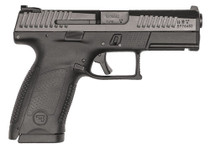 "CZ P-10 C, 9mm, 4"" Barrel, 15rd, Fixed Sights, Black"