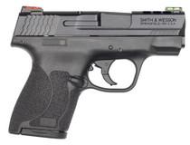"Smith & Wesson M&P Shield M2.0, 9mm, 3.1"" Barrel,  8rd, Fiber Optic Sights, Black"
