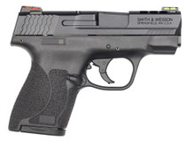 "Smith & Wesson M&P 40 Shield M2.0, .40 S&W, 3.1"", 7rd, HiViz Fiber Optic Sights, Black"