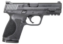"Smith & Wesson M&P M2.0 Compact, 9mm, 4"" Barrel, 10rd, No Manual Safety, Black"