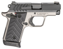 "Springfield 911, .380 ACP, 2.7"" Barrel, 7rd, Tritium Night Sights, Black Slide, Titanium Gray Frame"