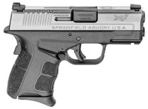 "Springfield XD-S Mod.2 9mm, 3.3"", TNS, Black Polymer Grip/Frame, Stainless Slide, 7rd"