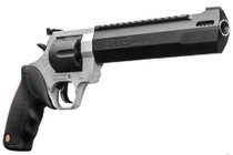 "Taurus Raging Hunter, .44 Mag, 8.375"", 6rd, Matte Stainless Steel Frame, Black Cylinder"