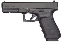 "Glock G21 Gen 4, 45 ACP, 4.6"" Barrel, 10rd, Black"