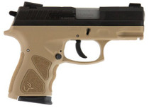 "Taurus TH9C, 9mm, 3.54"" Barrel, 17rd, Flat Dark Earth Frame, Black Slide"