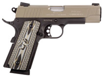 "Taurus 1911 Commander, 45 ACP, 4.2"" Barrel, 8rd, Novak Sights, Black Frame, Sand Slide"