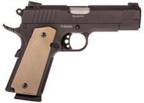 "Taurus 1911 Commander, 45 ACP, 4.25"", 8rd, Flat Dark Earth Magpul MOE Grips/Frame, Black Slide"